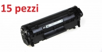 KIT TONER COMPATIBILE HP Q2612A/FX10 15PZ