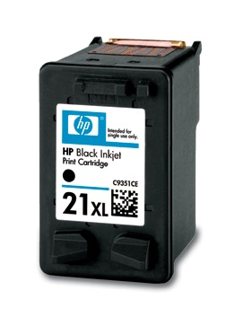 CARTUCCIA COMPATIBILE PER HP 21XL C9351CE NERO C9351CE